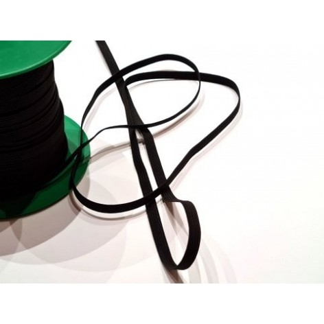 Goma elástica negra - 4mm.